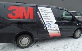Reklaamkleebised kaubikul - 3M