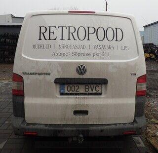 Autokleebised - Retropood
