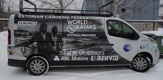 Reklaamkleebised kaubikule - World Kayaks