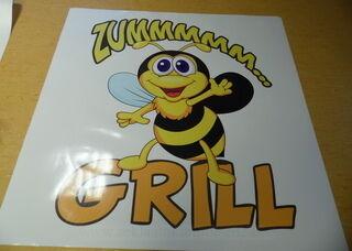 Reklaamkleebis - Zummmmm grill