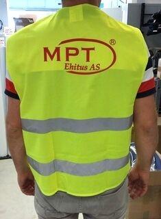 Ohutusvest logoga - MPT Ehitus