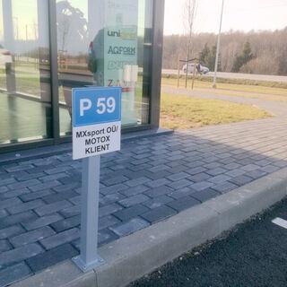 Parkimiskoha silt - Motox