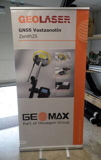 Geomax rollup