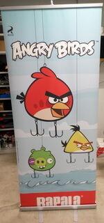 Rullaständi Angry Birds