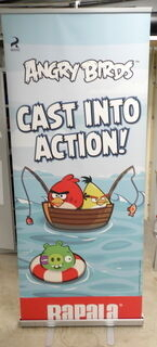 Roll-UP teline Angry Birds