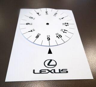 Parkkikello Lexus