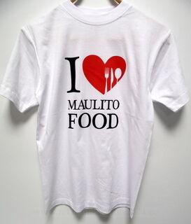 Painettu t-paita Maulito Food