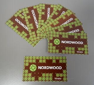 Käynttikortit Nordwood