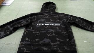 Logotrükk jopel Adrenaliin