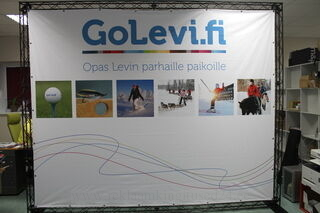 3,2x2,6 m Trussi mainosseinä GoLevi