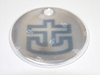Ümmargune helkur logoga