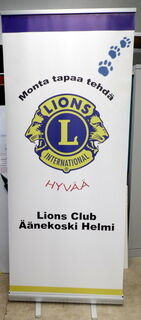 Roll-Up Lions Club Äänekoski Helmi