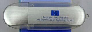 Muistitikku logolla Euroopa Liit