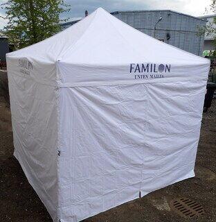3x3 Pop up teltta Familon
