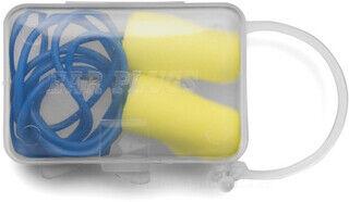 Ear plugs in a plastic case