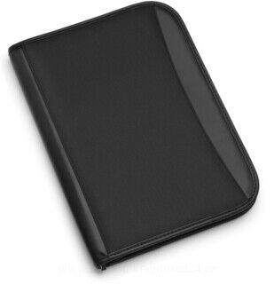 Microfibre zipped folder