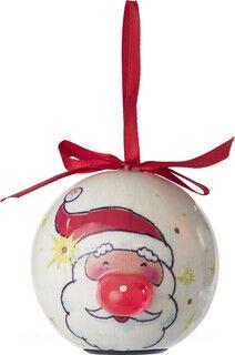 Christmas ball with LEDS