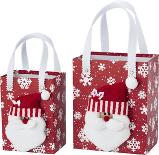 Set of Christmas decoration boxes