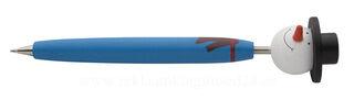 cartoon pen , Snowman