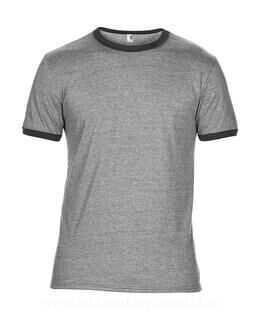 Adult Fashion Basic Ringer Tee 6. pilt