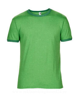 Adult Fashion Basic Ringer Tee 10. pilt