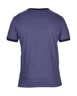 Adult Fashion Basic Ringer Tee 2. pilt
