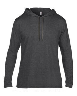 Adult Fashion Basic LS Hooded Tee 3. pilt