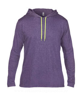 Adult Fashion Basic LS Hooded Tee 19. pilt