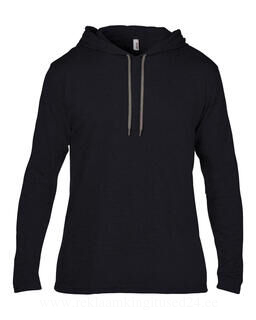 Adult Fashion Basic LS Hooded Tee 8. pilt
