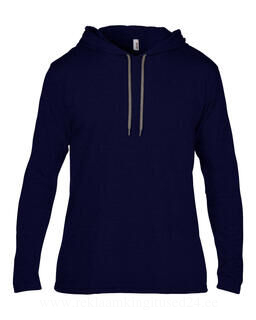 Adult Fashion Basic LS Hooded Tee 7. pilt