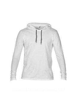 Adult Fashion Basic LS Hooded Tee 2. pilt