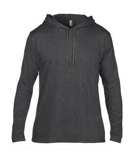 Adult Fashion Basic LS Hooded Tee 17. pilt