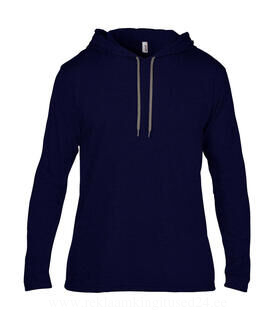 Adult Fashion Basic LS Hooded Tee 18. pilt