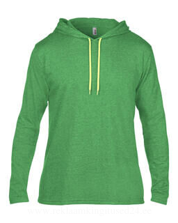 Adult Fashion Basic LS Hooded Tee 6. pilt