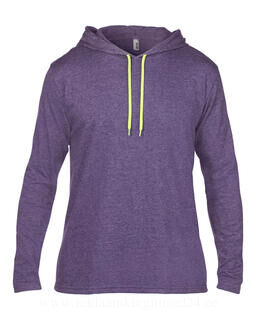 Adult Fashion Basic LS Hooded Tee 4. pilt