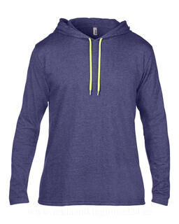 Adult Fashion Basic LS Hooded Tee 5. pilt