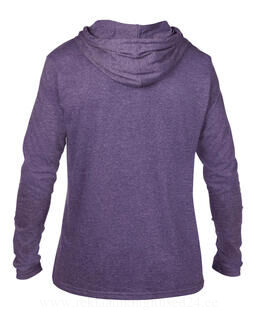 Adult Fashion Basic LS Hooded Tee 12. pilt