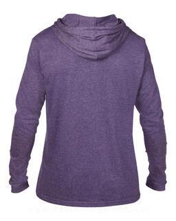 Adult Fashion Basic LS Hooded Tee 12. pilt