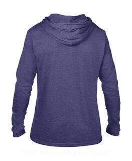 Adult Fashion Basic LS Hooded Tee 13. pilt