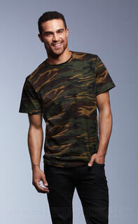 Adult Heavyweight Camouflage Tee 3. pilt