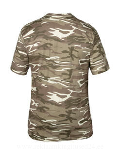 Adult Heavyweight Camouflage Tee 8. pilt