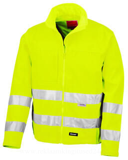 High-Viz Soft Shell Jacket 2. pilt