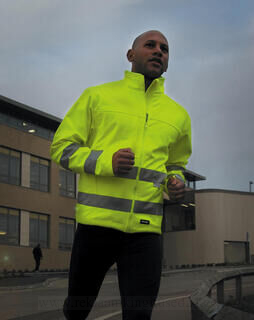 High-Viz Soft Shell Jacket 4. pilt