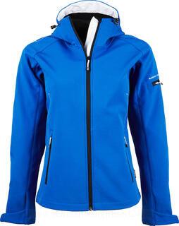 Ladies Hooded Fashion Softshell Jacket 4. pilt