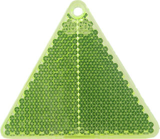 Helkur kolmnurk 67x59mm roheline