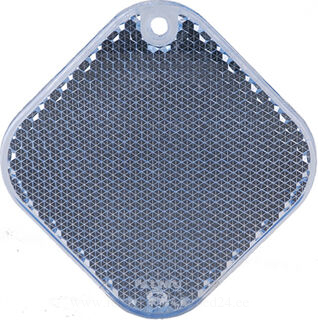 Reflector square 63x63mm blue
