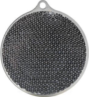 Reflector round 55x61mm black