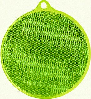 Reflector round 55x61mm green