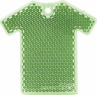 Reflector T-shirt 64x63mm green